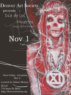 Day of the dead poster 2