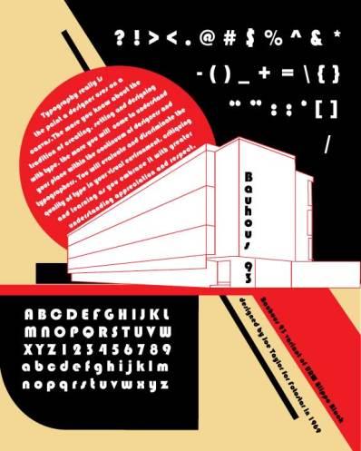 Typography-poster-Bauhous