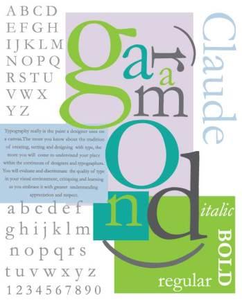 Typography-poster--Geramond