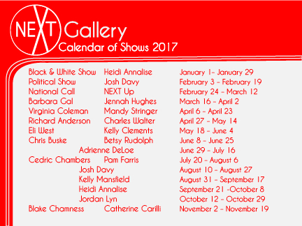 2017 calander postcard back