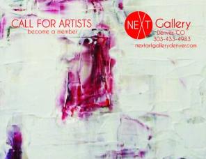 Call to artist postcard