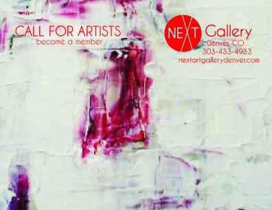 Call to artist postcard